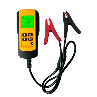 Digital 12V Car Battery Tester Automotive Battery Load Tester and Analyzer Of Battery Life Percentage