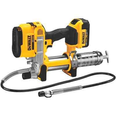 DEWALT DCGG571M1 20-volt MAX Lithium Ion Grease Gun