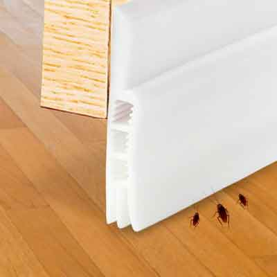 Under Door Sweep door draft stopper Weather Stripping Door Bottom Seal Strip