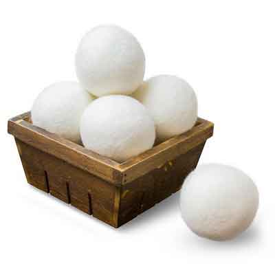 Wool Dryer Balls by ZG-Home 6-Pack