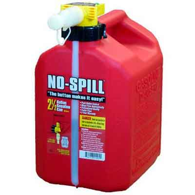 No-Spill 1405 2-1/2-Gallon Poly Gas Can