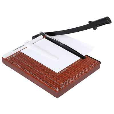 Guillotine Paper Cutter and Trimmer