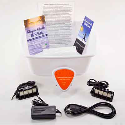 Foot Spa - Ionic Foot Cleanse - Foot Spa Bath. Detox Foot Spa Machine. Detox Foot Spa with...