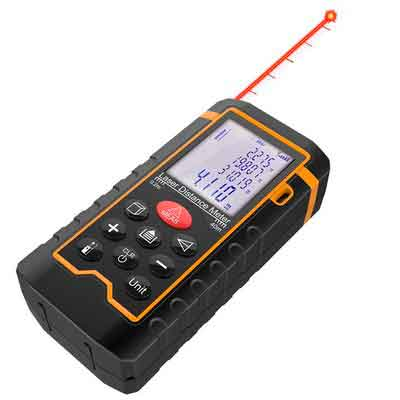 DBPOWER Digital Laser Measure 197FT/ 60M