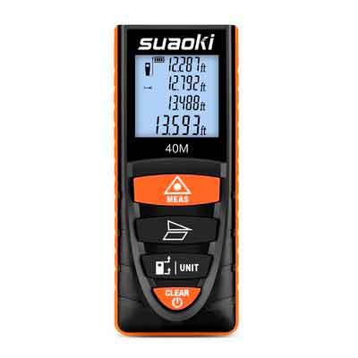 Suaoki Digital Laser Tape Measure 131 Ft