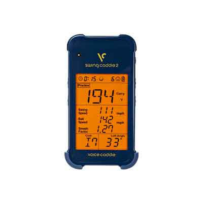 Voice Caddie SC 200 Portable Golf Launch Monitor with Audible Output