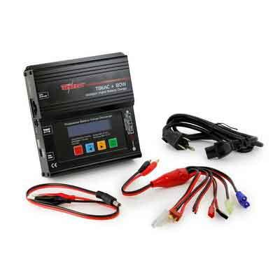 Tenergy TB6AC+80W 8A Intelligent Digital Balance Charger for NiMH NiCd Li-PO Li-Fe SLA