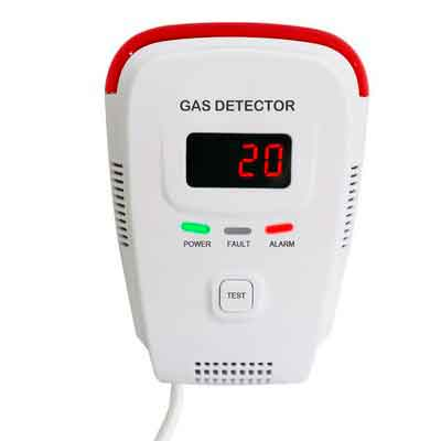 Natural Gas Detector /Home Gas Leak Alarm /Tester Sensor Combustible Gases: Propane