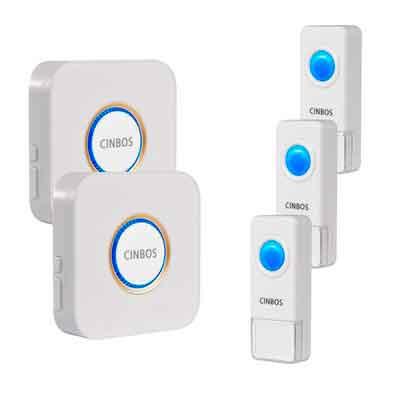 Cinbos Wireless Doorbell For Home/Office