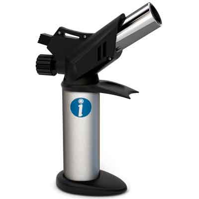 Professional Culinary Torch with Adjustable Flame for Perfect Creme Brulee