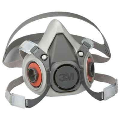 3M Half Facepiece Reusable Respirator 6100/07024