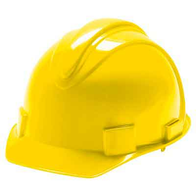 Jackson Safety 20427 Charger High Density Polyethylene Hard Hat with 4 Point Plastic Suspension