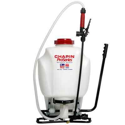 Chapin 61800 4-Gallon ProSeries Backpack Sprayer For Fertilizer