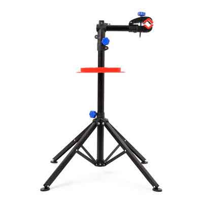 MVPOWER Pro Mechanic Bike Repair Stand Adjustable Height Bicycle Maintenance Rack Workstand With Tool Tray