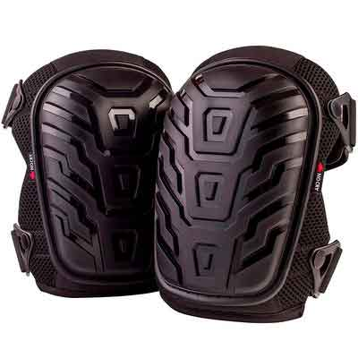 NoCry Professional Knee Pads with Heavy Duty Foam Padding and Comfortable Gel Cushion