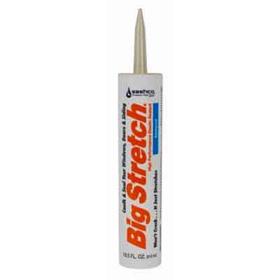 Sashco Big Stretch Acrylic Latex High Performance Caulking Sealant