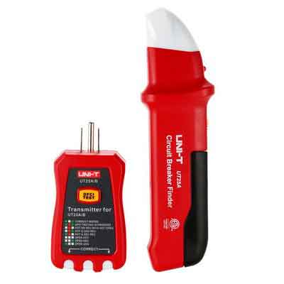 UNI-T Automatic Circuit Breaker Finder Socket Tester with LED Indicator NCV Indication UT25A