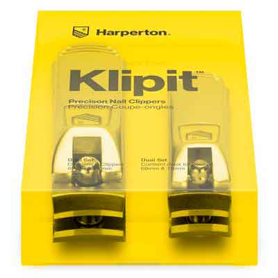 Harperton Nail Clipper Set Fingernail and Toenail Clipper