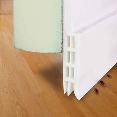 Under Door Sweep Weather Stripping Door Bottom Seal Strip draft stopper