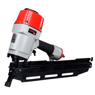 PowRyte Basic 21° Round Head Air Framing Nailer - 2 inch to 3 1/2 inch by .113 to .148 Shank