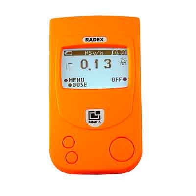 RADEX RD1503+ with Dosimeter