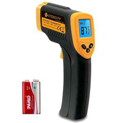 Etekcity Lasergrip 774 Non-contact Digital Laser Infrared Thermometer Temperature Gun -58℉~ 716℉
