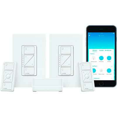 Lutron Caseta Wireless Smart Lighting Dimmer Switch
