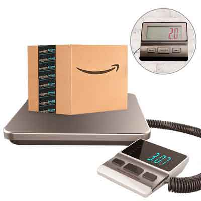 Postal Scale Heavy Duty Digital for Shipping and Postal with Durable Stainless Steel Large Platform