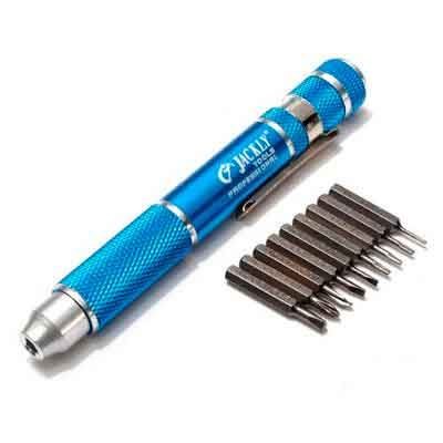 JACKLY 10 in 1 Electric Repair Tools Precision Screwdriver Kit