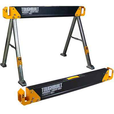 ToughBuilt - Folding Sawhorse / Jobsite Table - Sturdy