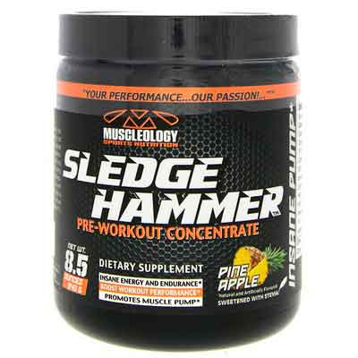 Muscleology Sports Nutrition Sledge Hammer Pre-Workout Concentrate
