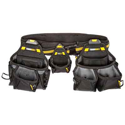 ToughBuilt - Contractor Tool Belt Set - Includes 3 Pouches