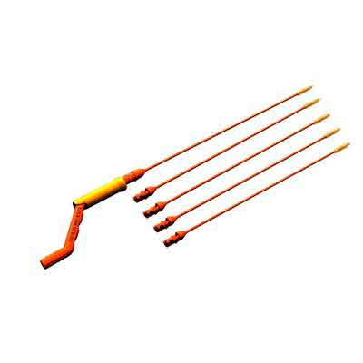 FlexiSnake Drain Weasel Hair Clog Tool 6PC Starter Kit