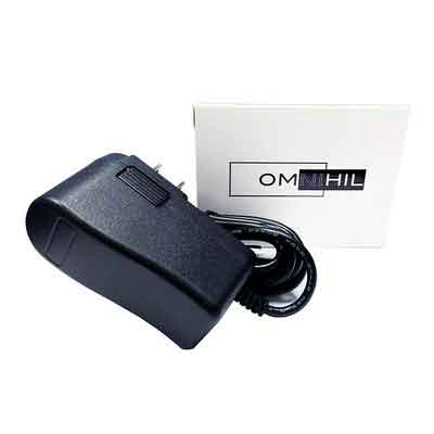 OMNIHIL AC/DC Adapter/Adaptor for Roland VT-3 Voice Transformer Vocal Effects Processor Power Supply Charger Cord