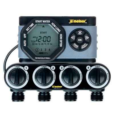 Melnor 4-Outlet Digital Water Timer