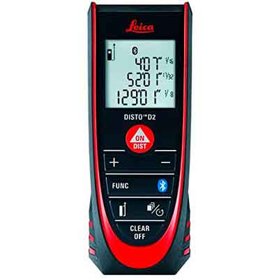 Leica DISTO D2 New 330ft Laser Distance Measure with Bluetooth 4.0
