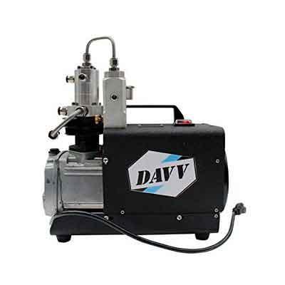 DAVV SCU30 High Pressure Air Compressor for Paintball PCP Airgun Rifle Scuba Tank Filling